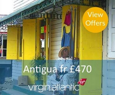Antigua Flight Offers
