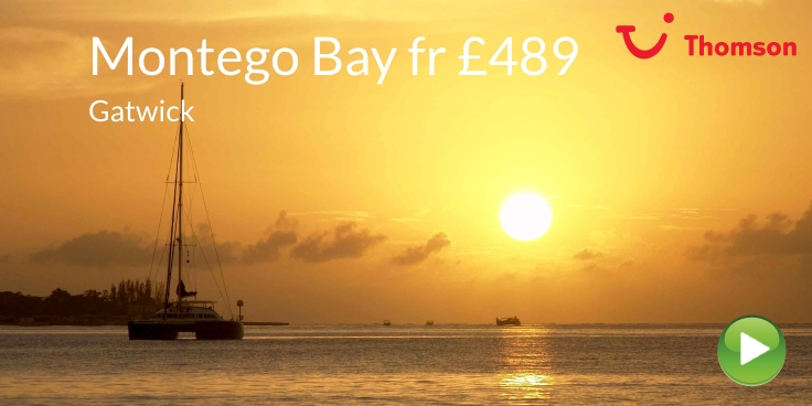 Montego Bay from Gatwick with Thomson from £489
