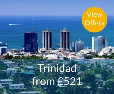 Trinidad flights from £583
