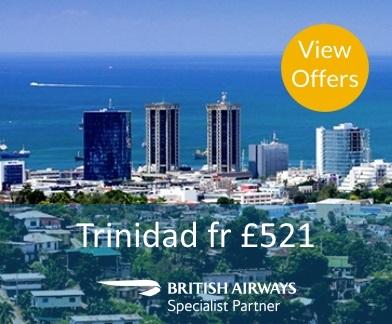 Trinidad flights with British Airways