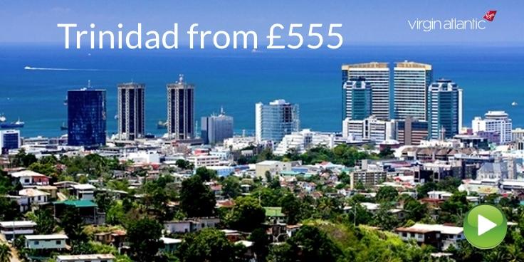 Virgin Atlantic to Trinidad from £555