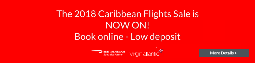 2018 British Airways Virgin Atlantic Caribbean Flights Sale