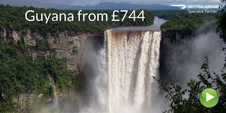 Guyana via Trinidad with British Airways